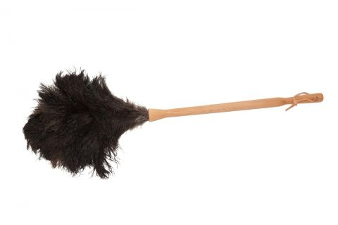 Plumeau struisvogelveer