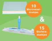 microvezeldoekjes en stofwisdoekjes